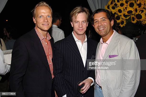 Robert Lindgren Keith Carroll and Philip Gorrivan attend TARGET hosts the THOMAS O'BRIEN Vintage Modern Launch Event at The Admiral's House on...