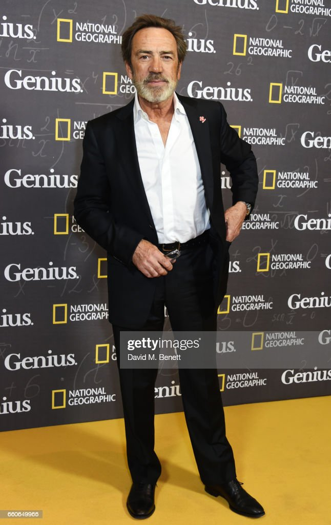 "National Geographic Channel's ""Genius"" - London Premiere Screening -VIP Arrivals"