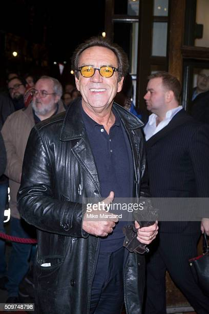 Robert Lindsay attends the World Premiere of 'End Of Longing' written by and starring Matthew Perry at Playhouse Theatre on February 11 2016 in...