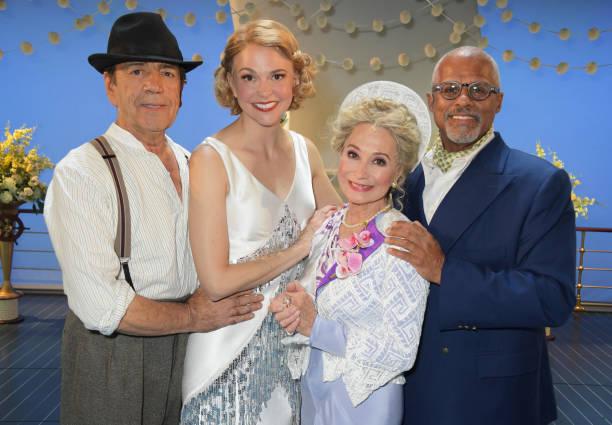 """GBR: """"Anything Goes"""" - Press Night - Curtain Call & Backstage"""