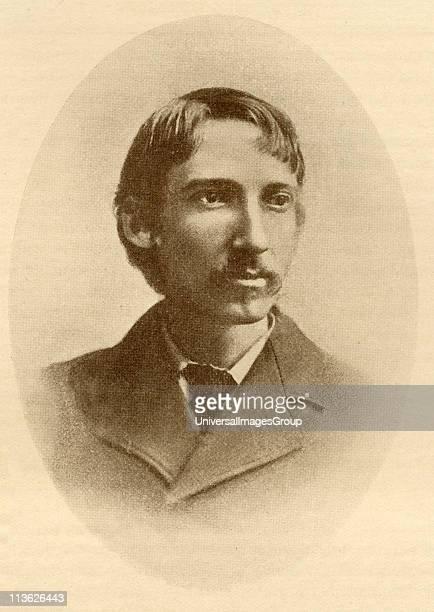 Robert Louis Balfour Stevenson 18501894 Scottish novelist essayist and poet From the book The Masterpiece Library of Short Stories Scottish Volume 10