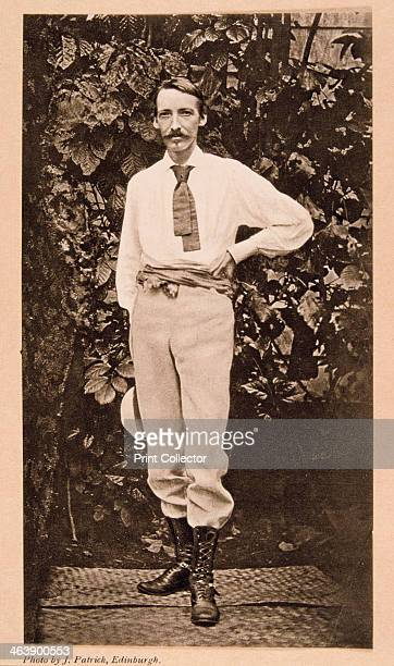 Robert Louis Stevenson in Samoa c1890 Stevenson Scottish author and poet In search of health in 1889 he settled with his family at Vailima in Samoa