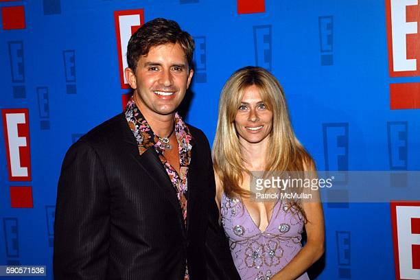 Robert M Rey and Hayley Rey attend E Entertainment Television's Summer Splash Event at Tropicana at Hollywood Roosevelt Hotel on August 1 2005