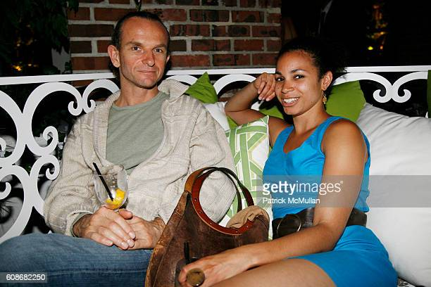 Robert Mac and K Emily Bond attend THE ACCOMPANIED LITERARY SOCIETY's Summer Benefit at The Hudson Sky Terrace at The Hudson Hotel on June 11 2007 in...