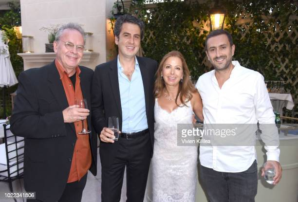 Robert Mack Karine Ohana Ariel Ohana and Michael Azoulay attend Ohana Co LA Event Brands With Mission at The Peninsula Beverly Hills on August 23...