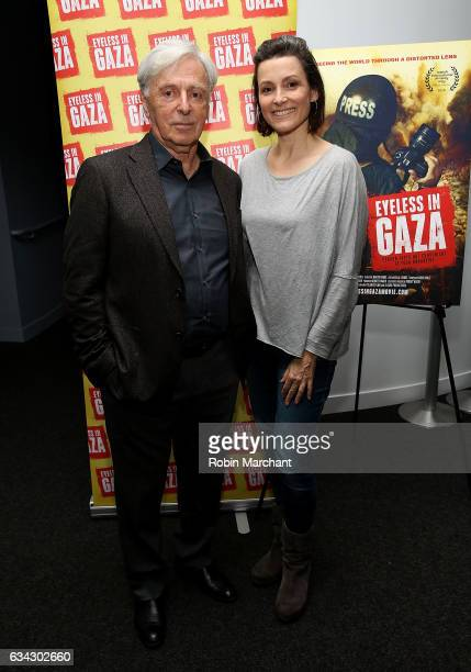 Robert Magid and Alison Bailes attend Eyeless In Gaza NYC Premiere Screening on February 8 2017 in New York City