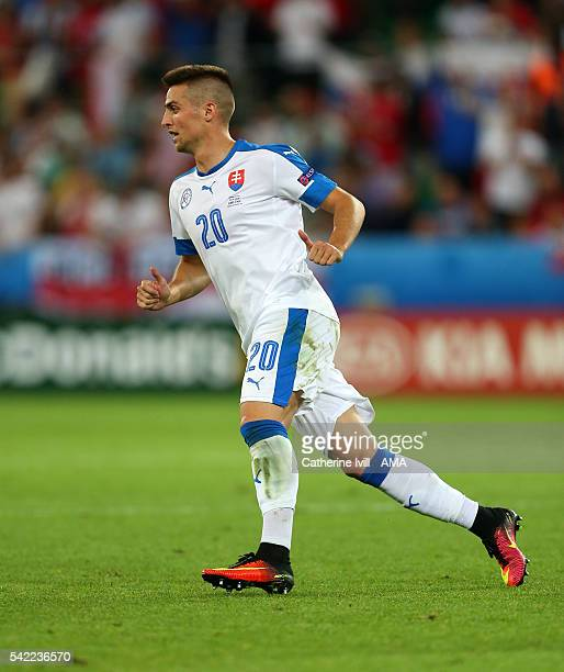 Robert Mak of Slovakia during the UEFA EURO 2016 Group B match between Slovakia v England at Stade Geoffroy-Guichard on June 20, 2016 in...