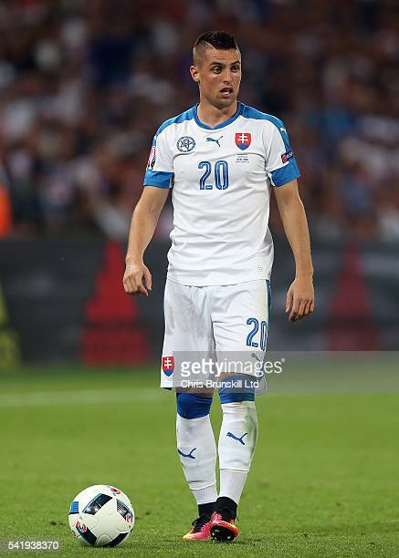Robert Mak of Slovakia looks on during the UEFA Euro 2016 Group B match between Slovakia and England at Stade Geoffroy-Guichard on June 20, 2016 in...
