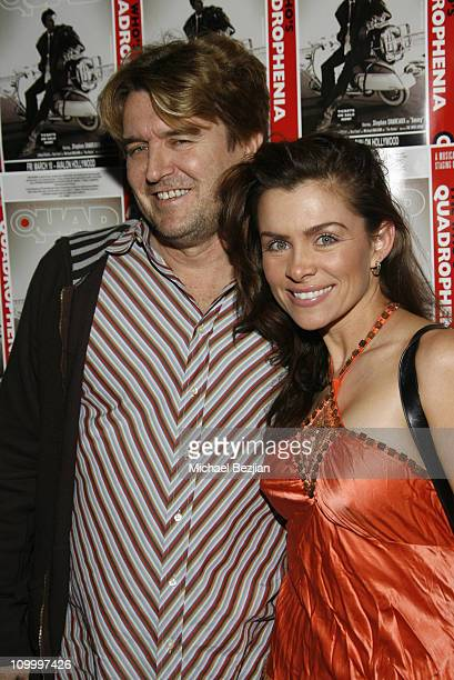 Robert Maltbie and Alicia Arden during Quadrophenia Musical Theatre Performance at The Avalon in Hollywood California United States