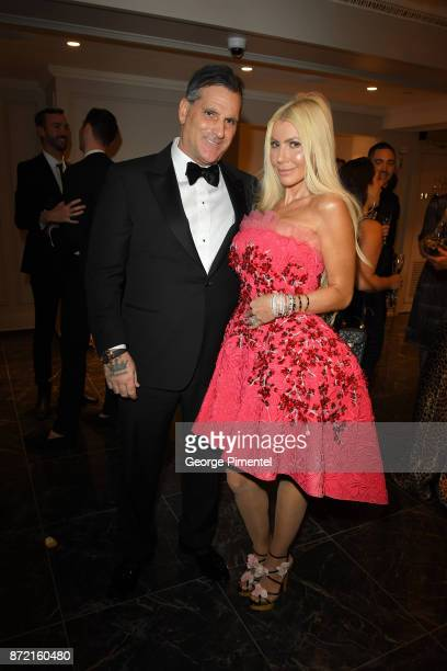 Robert Mantella and Sylvia Mantella attend the HBC Foundation presentation of Haute Affair in support of the Dotsa Bitove Wellness Academy and the...