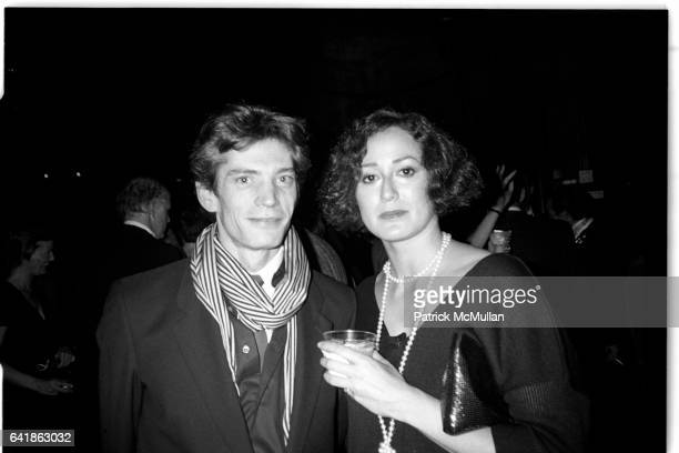 Robert Mapplethorpe and Catherine Olim at the NY Film Festival 1983