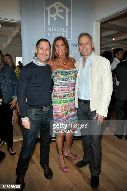 Robert Marc Amy Chanos and Gunnar Spaulding attend MIRACLE HOUSE 20th Anniversary Memorial Day Summer Kickoff Benefit honoring Amy Chanos and Jim...