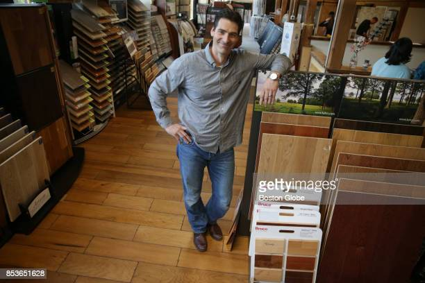 Robert Marra owner of Marra Flooring inside the new Metro West Design Center in Ashland MA poses for a portrait on Aug 1 2017 For years Ashland has...