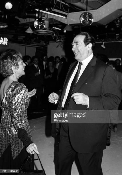Robert Maxwell with his secretary Jean Baddeley
