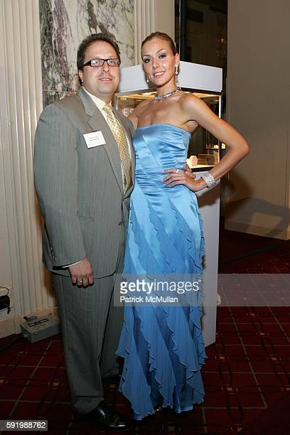 Robert May and Allison McAtee attend Fashion Show and Launch of ESCADA Fine Jewelry at the Rapaport International Diamond Conference at Grand...