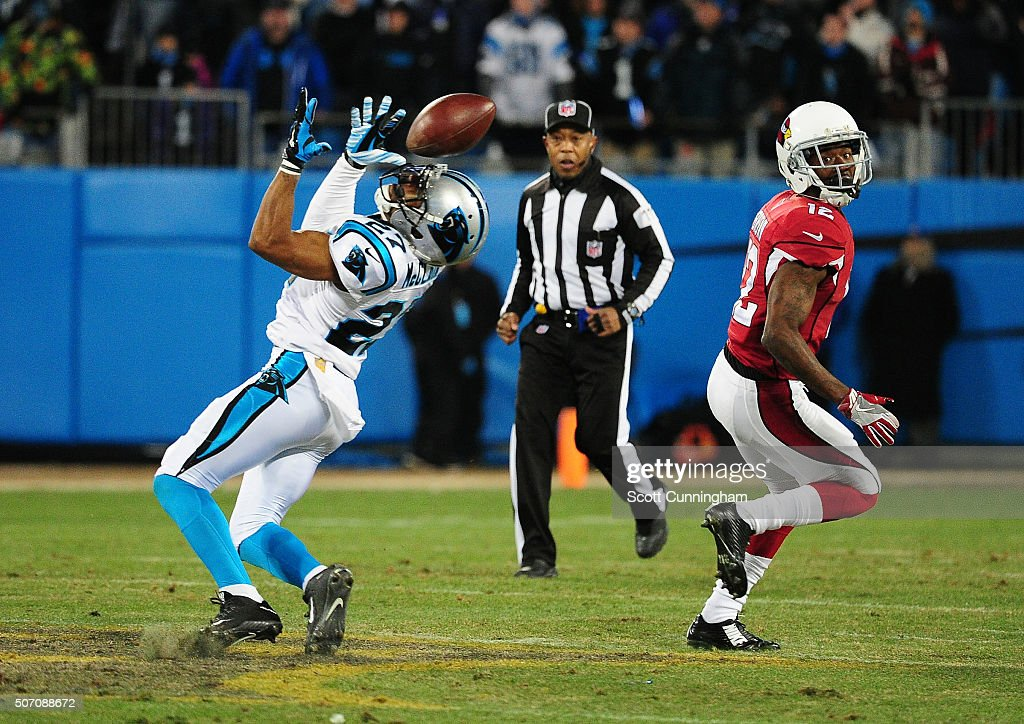 NFC Championship - Arizona Cardinals v Carolina Panthers : Nachrichtenfoto