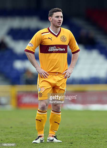 Robert McHugh of Motherwell FC in action during the Clydesdale Bank Scottish Premier League match between Inverness Caledonian Thistle FC and...