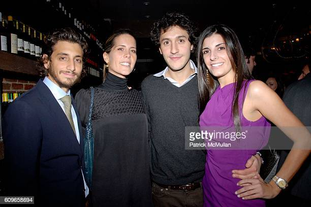Robert McKinley Summer Strauch Lucia Tait and Jacopo Giustiniani attend COUP de COEUR Celebrates the Holidays with Shopping and Cocktails at FELICE...