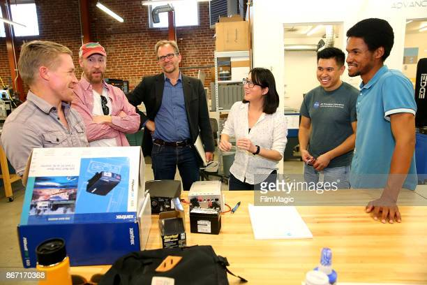 Robert Metcalf Matt Walsh Los Angeles Cleantech Incubator CEO Matt Petersen Advanced Prototyping Center Director Kay Yang APC Shop Tech Andrew Fortus...
