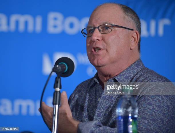 Robert Mickelson attends The Miami Book Fair at Miami Dade College Wolfson Chapman Conference Center on November 19 2017 in Miami Florida