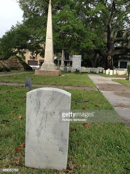 Robert Mills Navy WW1 Veteran National Cemetery St Augustine Florida