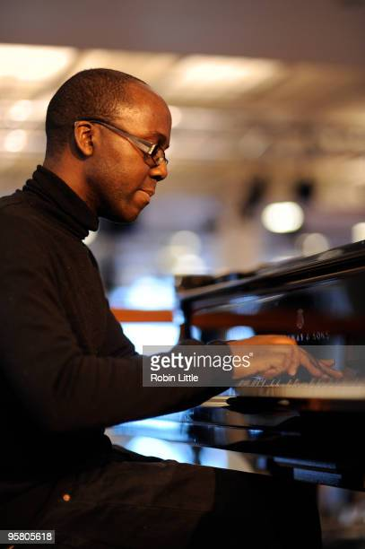 Robert Mitchell performs at the Foyer Bar in South Bank Centre on January 15 2010 in London England