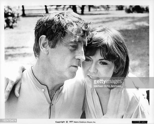 Robert Mitchum And Brenda Vaccaro are lovers who hope to marry if the law allows because Harry is on parole for murdering his first wife in a scene...