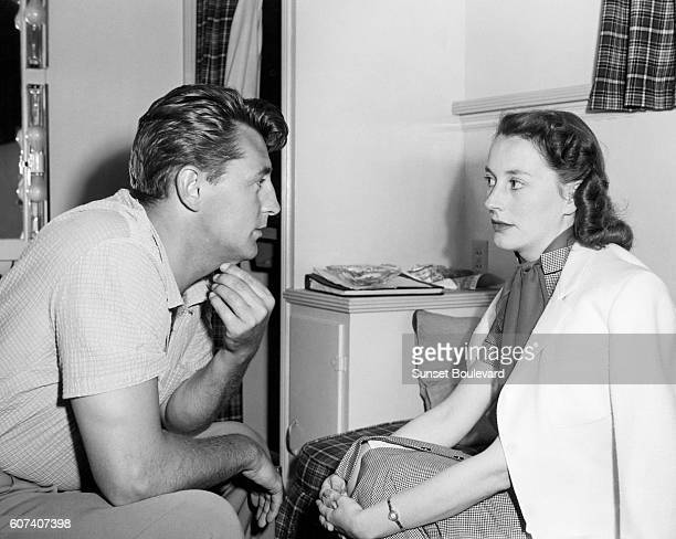Robert Mitchum with wife Dorothy