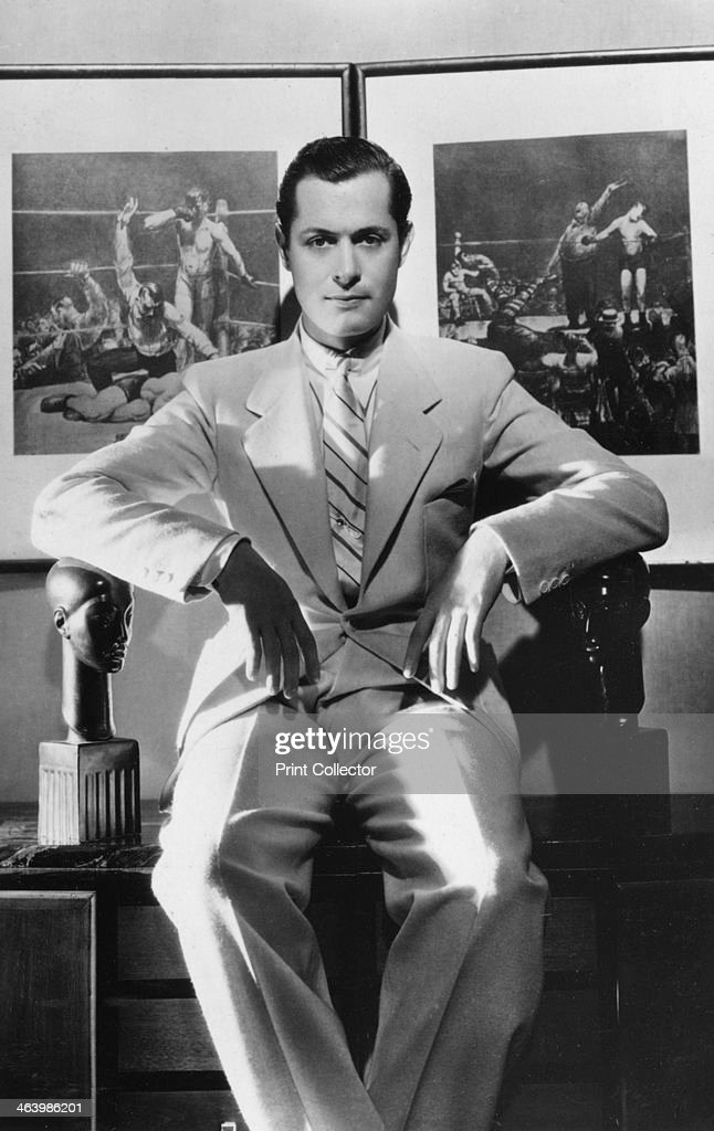 Robert Montgomery (1904-1981), American actor and director, 20th century. : News Photo