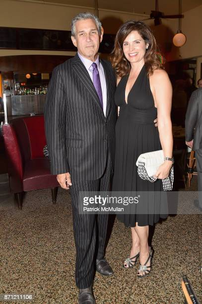 Robert Movick and Wendy Norris attend The Warhol @ The Odeon at The Odeon on November 6 2017 in New York City