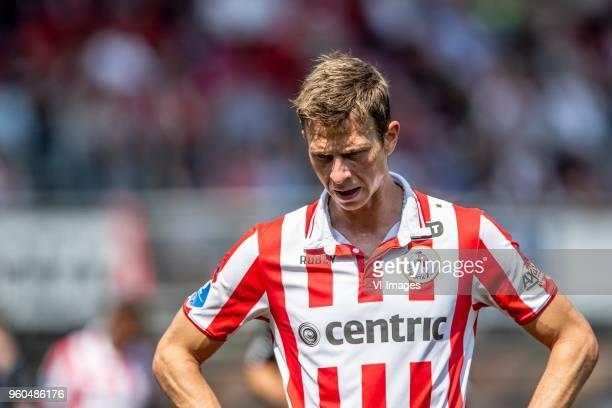 Robert Muhren of Sparta Rotterdam during the Dutch Jupiler League playoffs final match between Sparta Rotterdam and FC Emmen at the Sparta stadium...