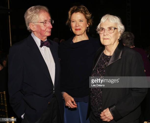 Robert Mulligan director of 'To Kill a Mockingbird' Annette Bening and author Harper Lee