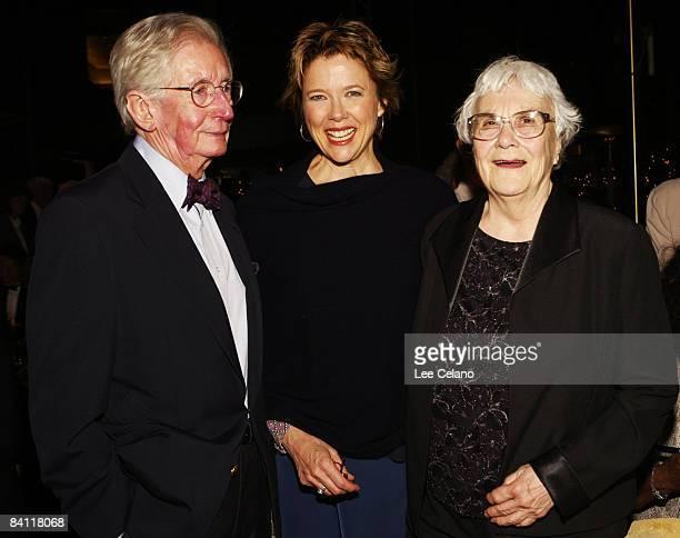 Robert Mulligan director of 'To Kill a Mockingbird' Annette Bening and Harper Lee