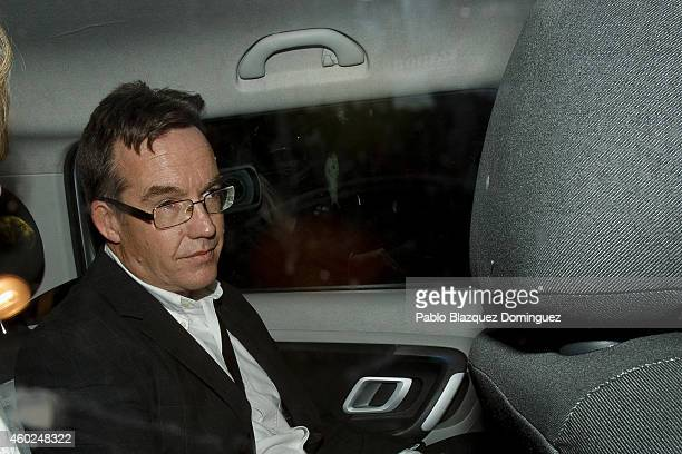 Robert Murat leaves Faro's Police Station inside a car after been interviewed as witnesses during an investigation on Madeleine McCann case on...