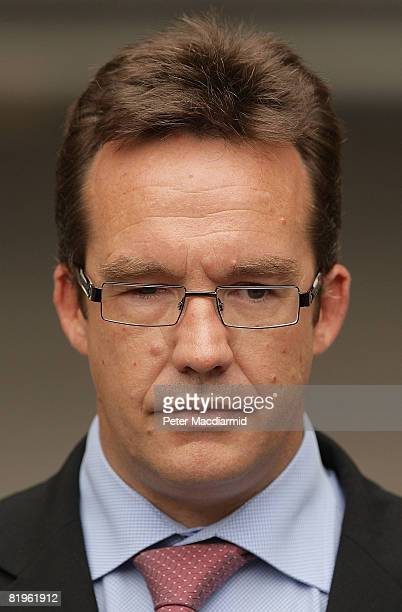 Robert Murat leaves the High Court on July 17 2008 in London England Mr Murat a suspect in the disappearance of Madeleine McCann had accepted GBP...