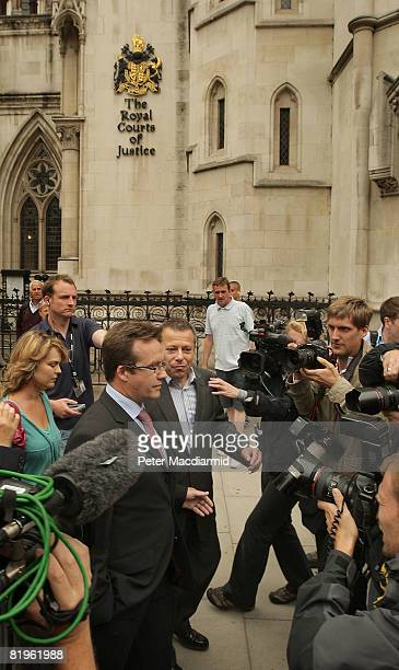 Robert Murat leaves the High Court on July 17 2008 in London England Mr Murat a suspect in the disappearance of Madeleine McCann has accepted GBP...