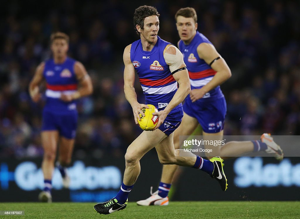 AFL Rd 20 -  Western Bulldogs v Melbourne : News Photo