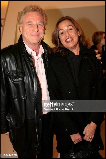 Robert Namias and Anne Barrere at Michel Leeb's 30 Year Career Celebration At Palais Des Congres In Paris