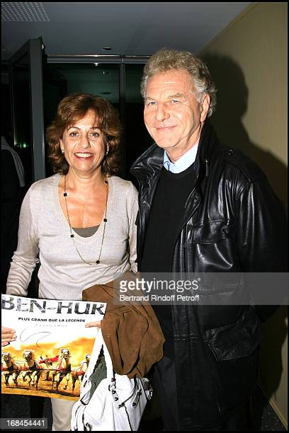 Robert Namias and Anne Barrere Ben Hur show at the French stadium