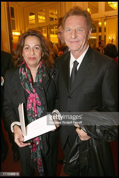 Robert Namias and wife Anne Barrere at The Salle Gaveau Concert In Aid Of La Fondation Claude Pompidou