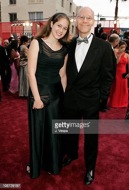 Robert Newman of ICM and daughter Leah during The 77th Annual Academy Awards Executive Arrivals at Kodak Theatre in Hollywood California United States