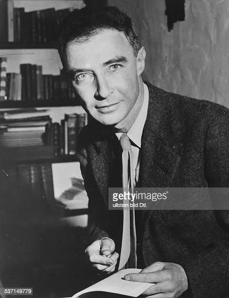 Robert Oppenheimer Physiker USA Porträt 1946