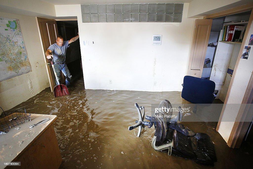 Major Flooding Continue To Wreak Havoc In Northern Colorado : News Photo