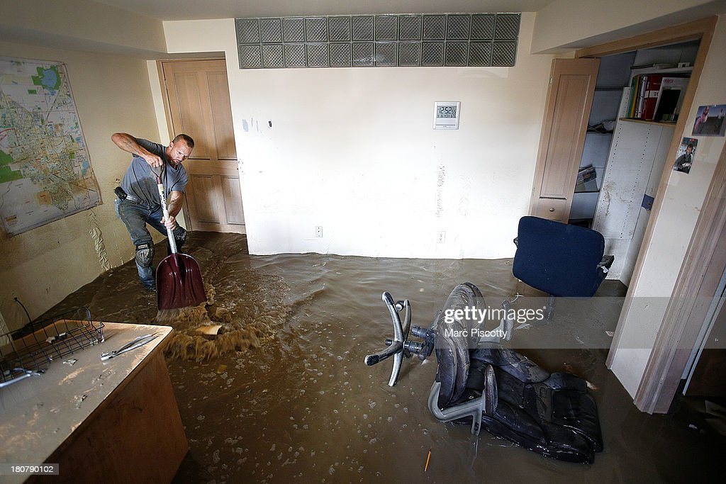 Major Flooding Continue To Wreak Havoc In Northern Colorado : News Photo