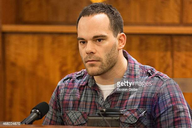 Robert Paradis testifies during the murder trial of former New England Patriots tight end Aaron Hernandez at Bristol County Superior Court in Fall...