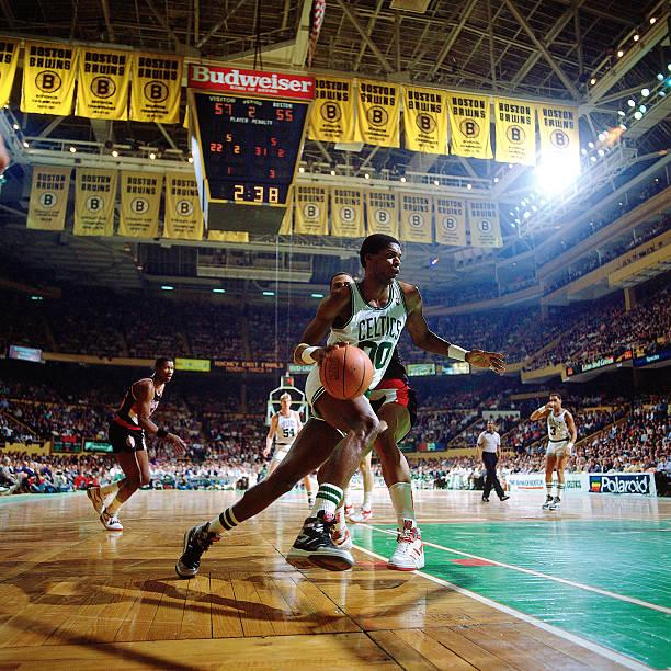 Robert Parish of the Boston Celtics