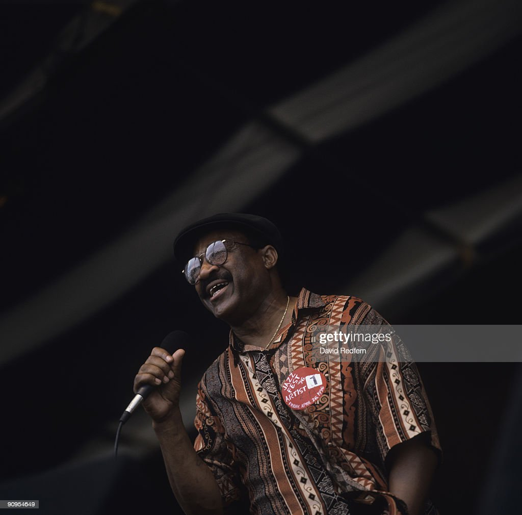 Robert Parker Performs At New Orleans : News Photo