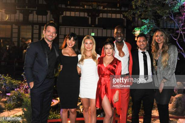 Robert ParksValletta Estrella Nouri Paige Lorentzen Lyssa Roberts Derrial Christon Adam Kruger and Antje Utgaard attend the This is LA Season 3...