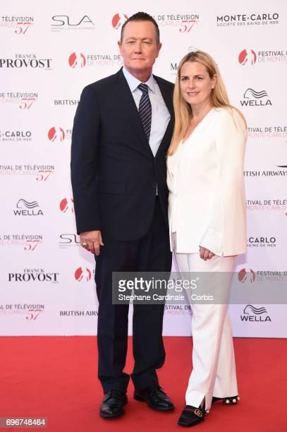 Robert Patrick and Barbara Patrick attend the 57th Monte Carlo TV Festival Opening Ceremony on June 16, 2017 in Monte-Carlo, Monaco.