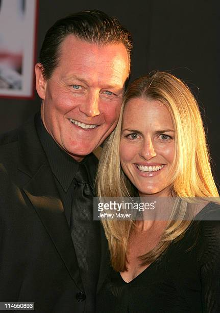 "Robert Patrick and wife Barbara during ""Ladder 49"" World Premiere - Arrivals at El Capitan Theatre in Hollywood, California, United States."